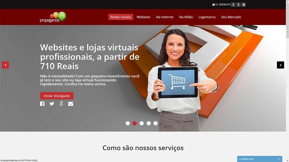 WEB SITE PROPAGANDA PMG
