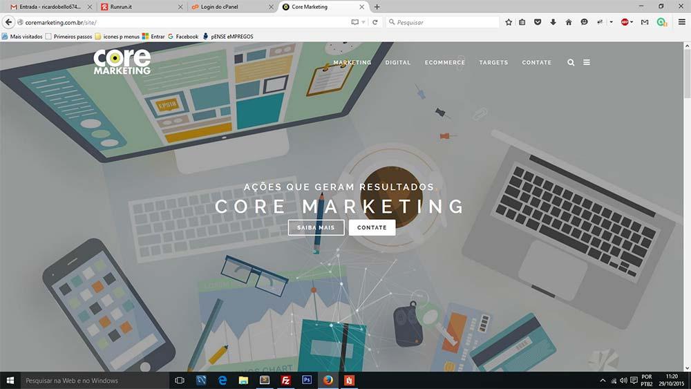 WEBSITE CORE MARKETING